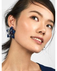 BaubleBar - Amarise Flower Resin Stud Earrings - Lyst