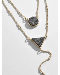 BaubleBar - Kera Druzy Layered Necklace - Lyst
