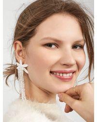BaubleBar - Lily Drop Earrings - Lyst