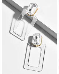 BaubleBar - Luza Lucite Drop Earrings - Lyst