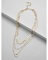 BaubleBar - Adrielle Layered Necklace - Lyst