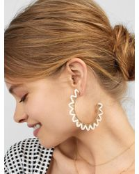 BaubleBar - Mariza Hoop Earrings - Lyst