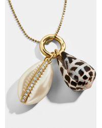 BaubleBar - Concha Pendant Necklace - Lyst