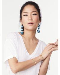 BaubleBar - Striped Crispin Ball Drop Earrings - Lyst