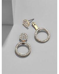 BaubleBar | Champagne Ear Jackets | Lyst
