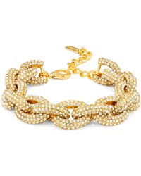 BaubleBar - Pavé Links-gold Small - Lyst
