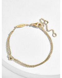 BaubleBar - Corazon 18k Gold Plated Bracelet - Lyst