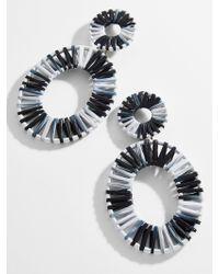BaubleBar - Mini Kiera Raffia Statement Earrings - Lyst