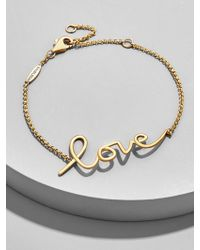 BaubleBar | L'amour Everyday Fine Bracelet | Lyst