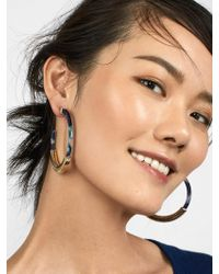 BaubleBar - Tassiana Hoop Earrings - Lyst