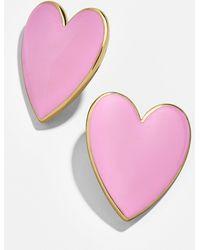 BaubleBar - Nellia Heart Stud Earrings - Lyst
