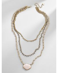 BaubleBar - Seraphia Layered Necklace - Lyst