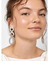 BaubleBar - Mimi Hoop Earrings - Lyst