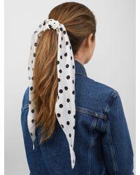BaubleBar - Valeriya Hair Scrunchie - Lyst