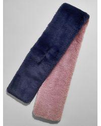 BaubleBar - Blair Faux Fur Scarf - Lyst