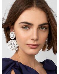 BaubleBar - Marise Flower Drop Earrings - Lyst