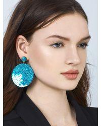 BaubleBar - Queenie Sequin Drop Earrings - Lyst