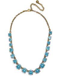 BaubleBar - Camryn Glass Statement Necklace - Lyst