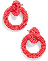 BaubleBar - Mini Emma Hoop Earrings - Lyst