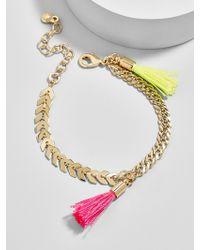 BaubleBar - Seychelle Tassel Bracelet - Lyst