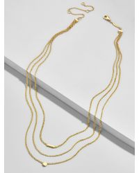 BaubleBar - Forma Everyday Fine Layered Necklace - Lyst
