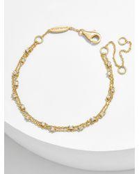 BaubleBar - Pietra 18k Gold Plated Bracelet - Lyst