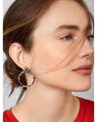 BaubleBar - Gemma Hoop Earrings - Lyst
