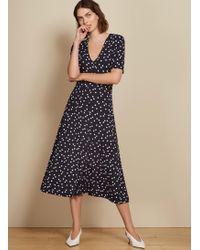 Baukjen Sapphire Button Dress