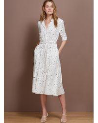 Baukjen Mia Shirt Dress - White