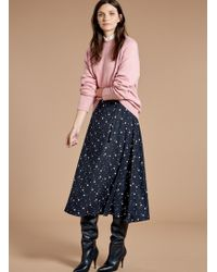 Baukjen - Luna Wrap Skirt - Lyst