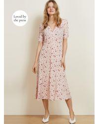 Baukjen - Adele Button Dress - Lyst