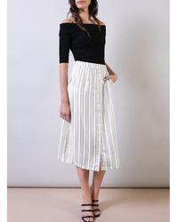 Baukjen - Carlin Striped Skirt - Lyst