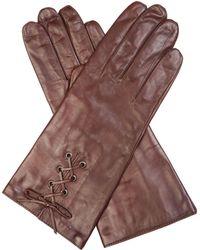 Cornelia James - Paloma Leather Gloves - Lyst