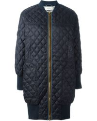 Paul by Paul Smith - Quilted Coat - Lyst