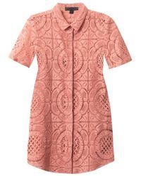 Burberry Prorsum - English Trellis Lace Shirt - Lyst