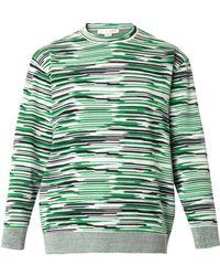 Stella McCartney Melange-Knit Sweater - Lyst