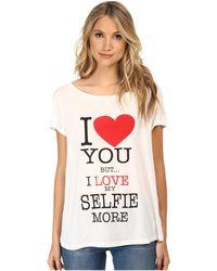 Rebecca Minkoff Multicolor Selfie T-Shirt - Lyst