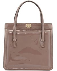 Valentino Patent-Leather Small Shoulder Bag - Lyst