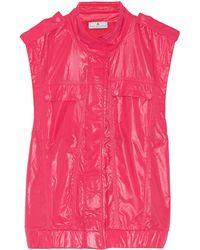 Adidas By Stella Mccartney Neon Shell Vest - Lyst