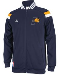 Adidas Mens Indiana Pacers On-court Jacket - Lyst