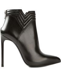 Saint Laurent Mattlesse Ankle Boots - Lyst