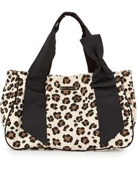 Betsey Johnson Ribbons Bows Canvas Tote - Lyst