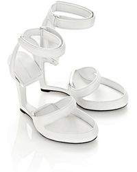 Alexander Wang Celia Leather Sandal - Lyst
