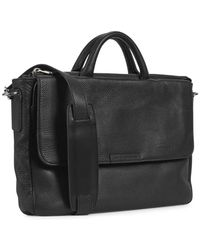 Marc By Marc Jacobs - Robbie Black Leather Messenger Bag - Lyst
