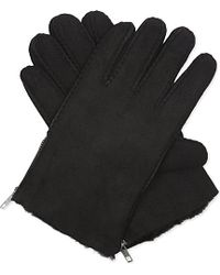 The Kooples - Shearling Gloves - Lyst