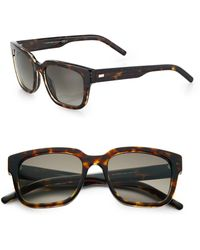 Dior Homme Black Tie Acetate Sunglasses brown - Lyst