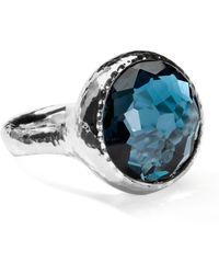 Ippolita - Lollipop London Blue Topaz Ring - Lyst