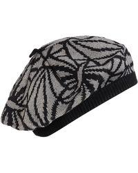 Biba - Deco Knit Beret Hat - Lyst