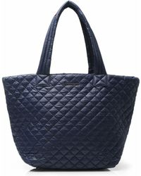 MZ Wallace Dawn Oxford Large Metro Tote blue - Lyst
