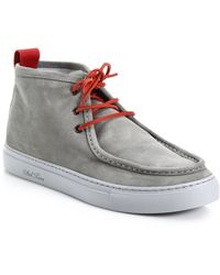 Del Toro   Wallaby Suede Chukka Boots   Lyst